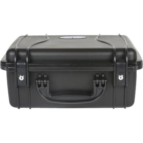 Seahorse 520 Protective Case withMetal Keyed Locks(Foam, Black)