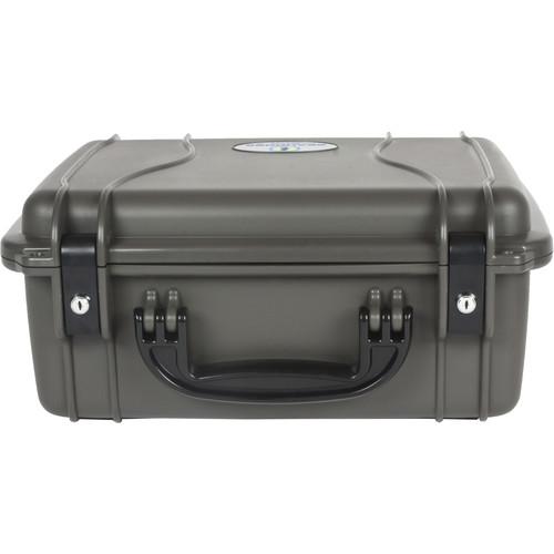 Seahorse 520 Protective Case withMetal Keyed Locks(Foam, Gun Metal Gray)