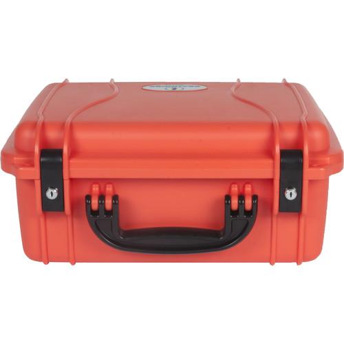 Seahorse 520 Protective Case withMetal Keyed Locks(Foam, International Orange)
