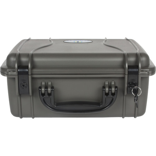 Seahorse 520 Protective Case withPlastic Keyed Locks(Foam, Gun Metal Gray)