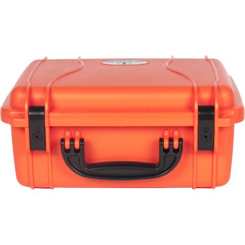 Seahorse 520 Protective Case withPlastic Keyed Locks(Foam, International Orange)