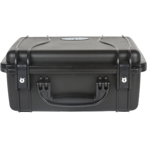 Seahorse 520 Protective Case Metal Keyed Locks(No Foam, Black)
