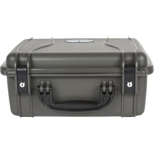 Seahorse 520 Protective Case Metal Keyed Locks(No Foam, Gun Metal Gray)