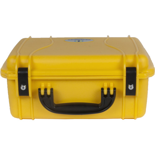 Seahorse 520 Protective Case Metal Keyed Locks (No Foam, Safety Yellow)
