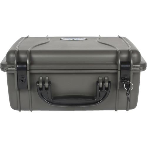 Seahorse 520 Protective Case Plastic Keyed Locks(No Foam, Gun Metal Gray)