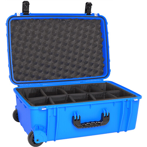 Seahorse SE-920 Hurricane SE Series Case with Foam and Divider Tray (Blue)