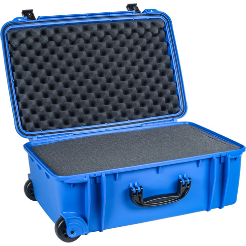 Seahorse SE 920F Wheeled Carry-On Case with Foam (Blue)