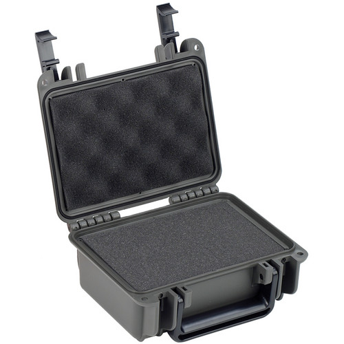 Seahorse SE-120 Hurricane Series Case with Foam (Gunmetal)