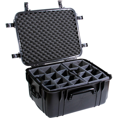 Seahorse SE-1220 Hurricane SE Series Case with Padded Photo Divider Set (Black)