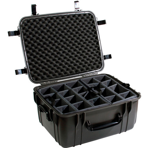 Seahorse SE-1220 Hurricane SE Series Case with Padded Photo Divider Set (Gunmetal)