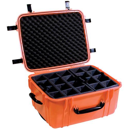 Seahorse SE-1220 Hurricane SE Series Case with Padded Photo Divider Set (Orange)