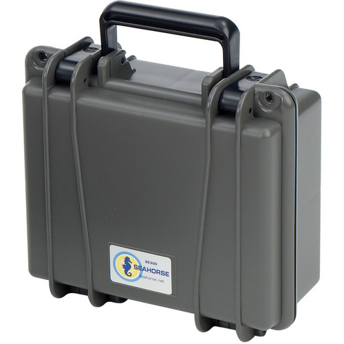 Seahorse SE-300 Hurricane Series Case without Foam (Gunmetal)
