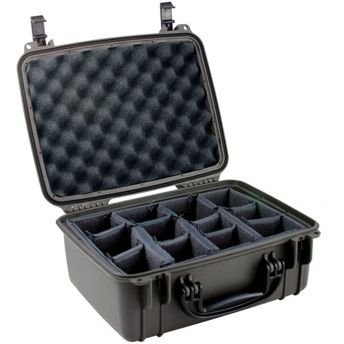 Seahorse SE-520 Hurricane SE Series Case with Padded Photo Divider Set (Gunmetal)