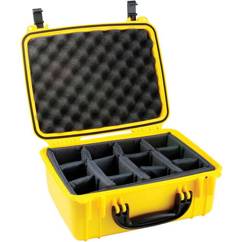 Seahorse SE-520 Hurricane SE Series Case with Padded Photo Divider Set (Yellow)