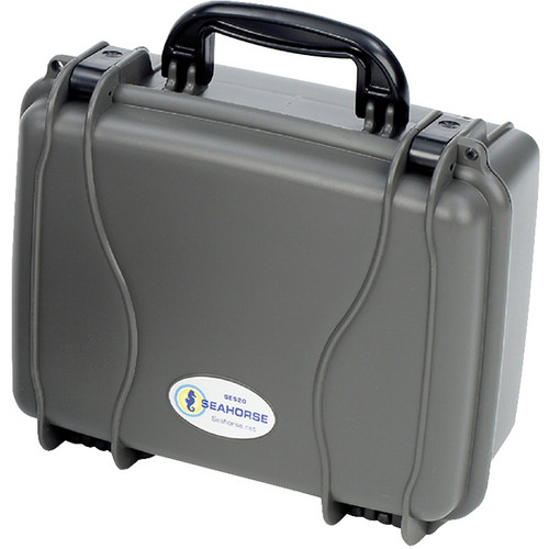 Seahorse SE-520 Hurricane Series Case without Foam (Gunmetal)