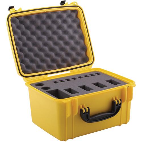 Seahorse SE-540 Hurricane Series Quick Draw Pistol Case (Yellow)