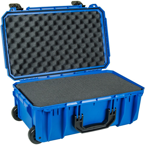 Seahorse SE830 Case with Telescoping Handle with Foam (Blue)
