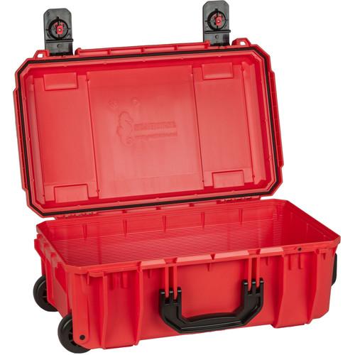 Seahorse SE830 Case with Telescoping Handle without Foam (International Orange)