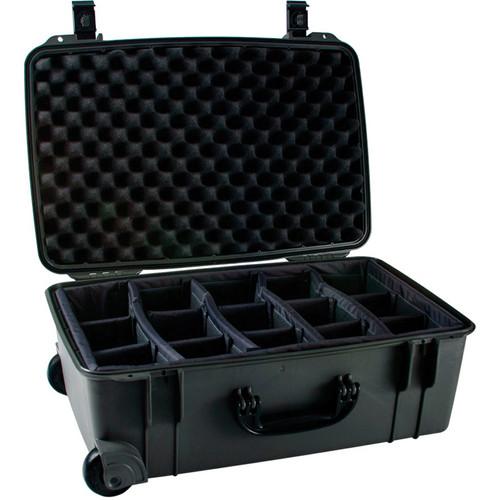 Seahorse SE-920 Hurricane SE Series Case with Customizable Padded Photo Divider Set (Black)