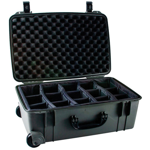 Seahorse SE-920 Hurricane SE Series Case with Customizable Padded Photo Divider Set (Gunmetal)
