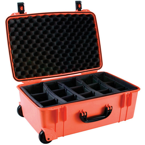 Seahorse SE-920 Hurricane SE Series Case with Customizable Padded Photo Divider Set (Orange)