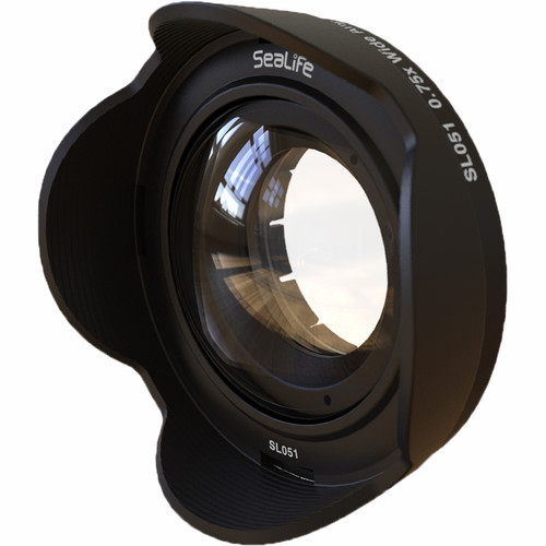 SeaLife 0.75x Wide-Angle Conversion Lens with 52mm Adapter for DC-Series Cameras
