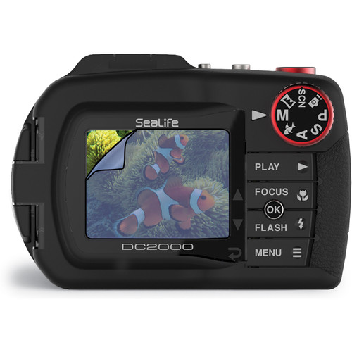SeaLife LCD Screen Shield for DC2000 Digital Camera (2-Pack)