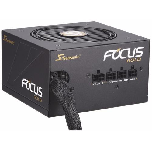 SeaSonic Electronics Focus Gold Series 550W 80 Plus Gold Modular ATX Power Supply