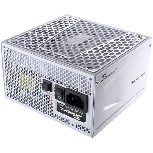 SeaSonic Electronics Prime Snow Silent 650 Gold: 650W 80 Plus Gold ATX12V Power Supply