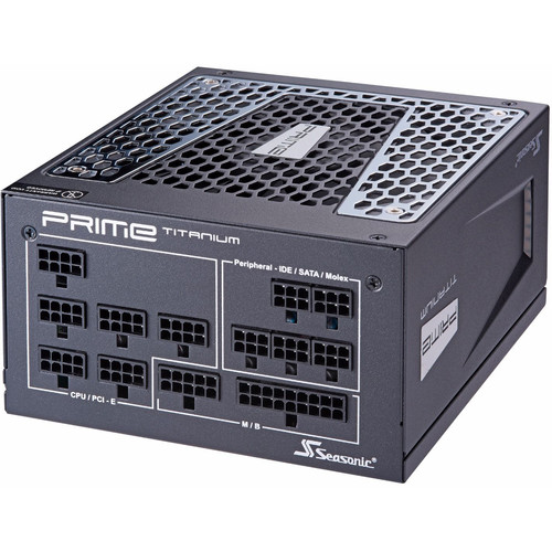 SeaSonic Electronics Prime Ultra Titanium Series 850W 80 Plus Titanium Modular ATX Power Supply