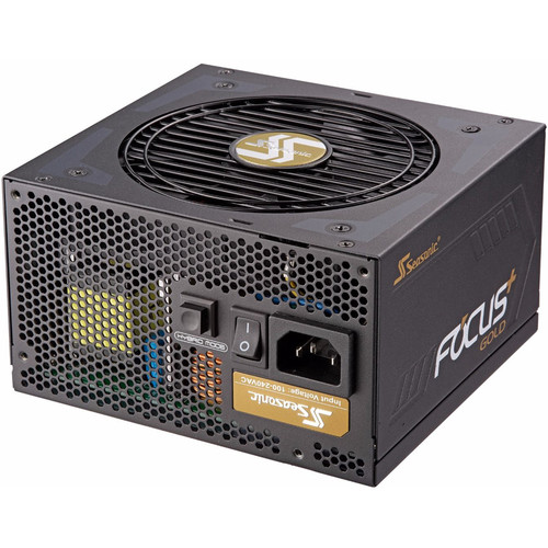 SeaSonic Electronics Focus Plus Series 1000W 80+ Gold Modular Compact Power Supply