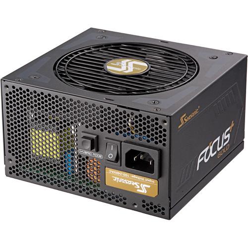 Seasonic FOCUS 12V Power Supply + Phanteks ATX Computer Case