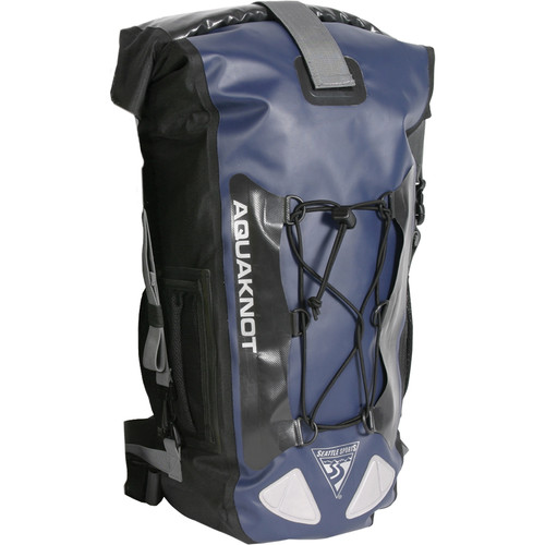 Seattle Sports AquaKnot Dry Backpack (20L, Navy)