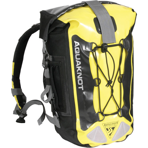 Seattle Sports AquaKnot Dry Backpack (20L, Yellow)