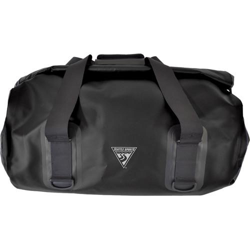 Seattle Sports NAV Waterproof Duffel Bag (Small, 50L, Black)