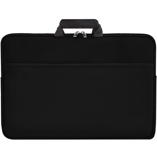"""Second Skin 15.6"""" Tote With Handles (Black)"""