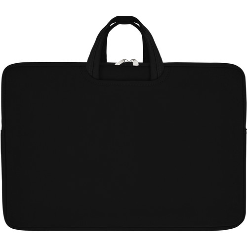 """Second Skin 15.6"""" Tote with Collapsible Handles (Black)"""