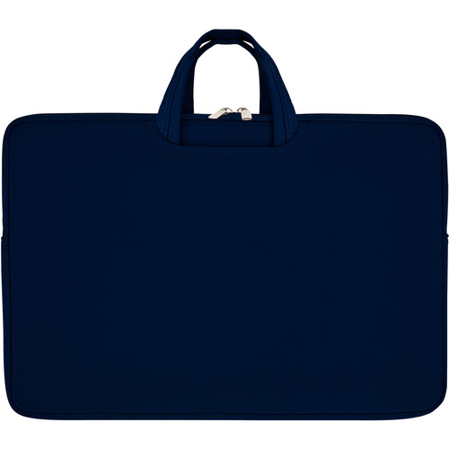 """Second Skin 17"""" Tote with Collapsible Handles (Navy)"""