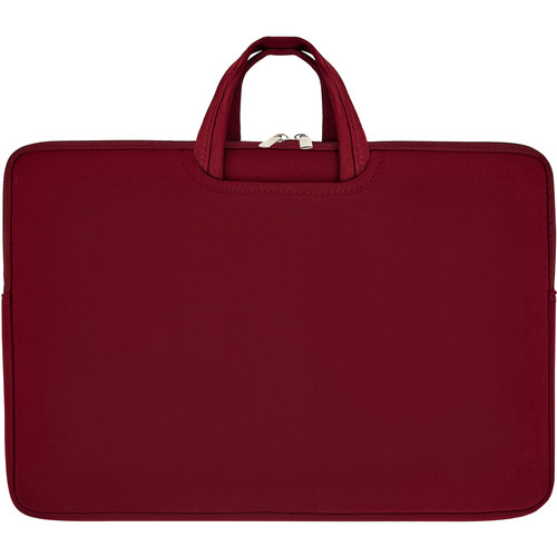 """Second Skin 17"""" Tote with Collapsible Handles (Wine)"""