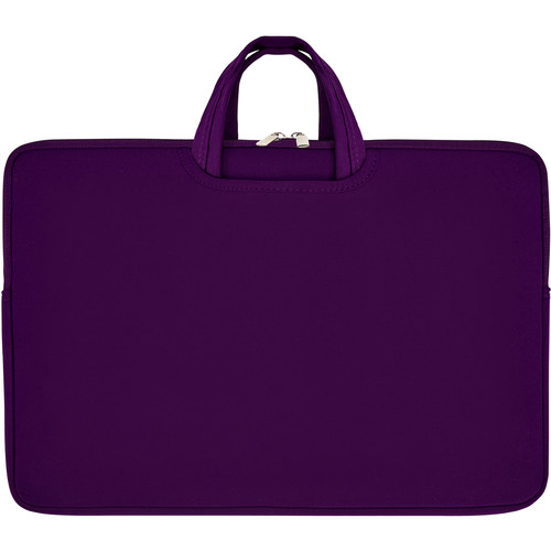 """Second Skin 17"""" Tote with Collapsible Handles (Purple)"""