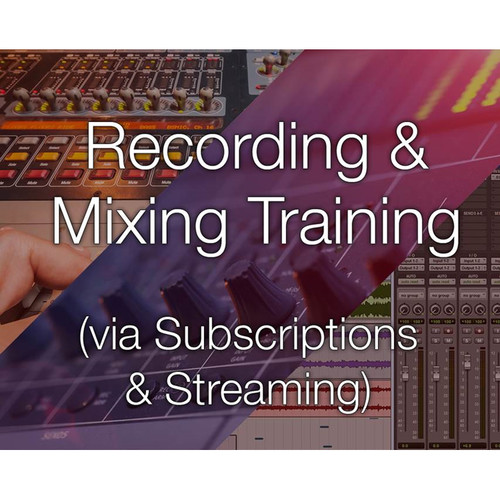 Secrets Of The Pros Recording and Mixing Training (3-Month Subscription)