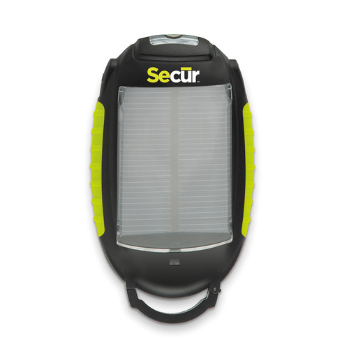 Secur SP-3003 Solar Cell Phone Charger with Utility Light