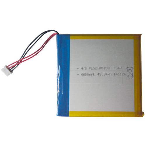 "SecurityTronix Lithium Ion Polymer Battery for IP Buddy+ Series 7"" Touch Screen"