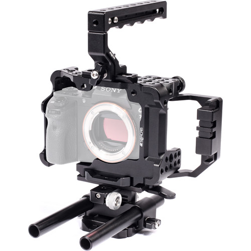 Seercam Cube RS2 Cage & Rod Riser Kit for Sony a7 II Cameras
