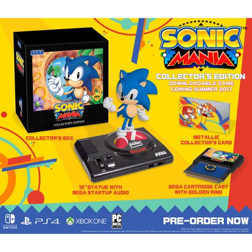 Sega Sonic Mania Collector's Edition (Xbox One)