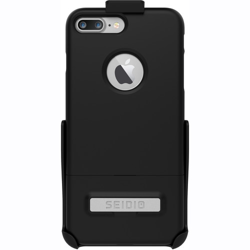 Seidio SURFACE Case for iPhone 7 Plus with Holster (Black/Black)