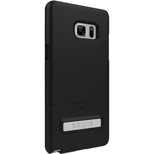 Seidio SURFACE Case with Kickstand and Holster for Galaxy Note 7 (Black/Black)