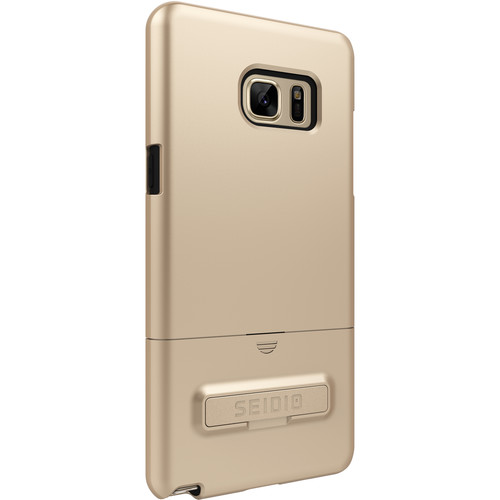 Seidio SURFACE Case with Kickstand and Holster for Galaxy Note 7 (Gold/Black)