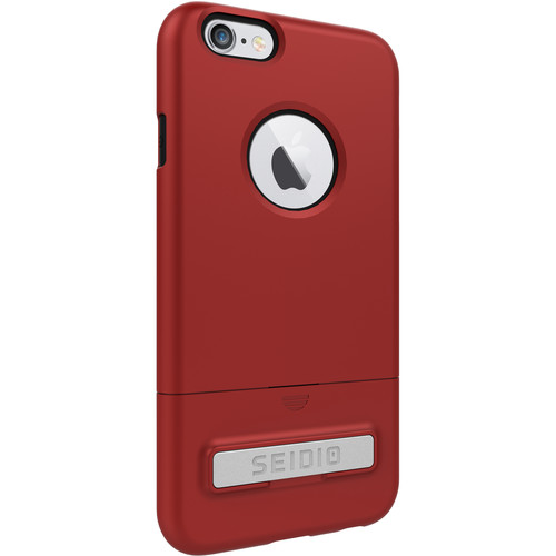 Seidio SURFACE Case with Kickstand for iPhone 6/6s (Dark Red/Black)
