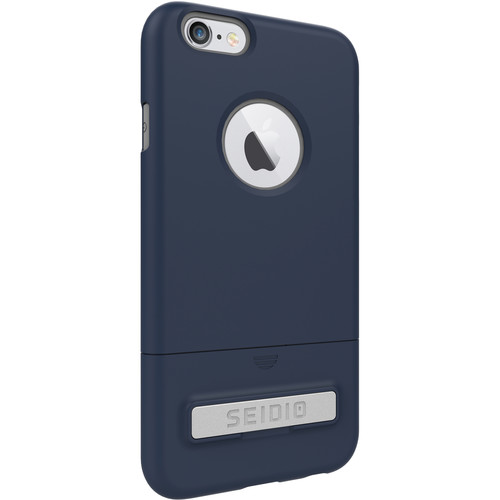 Seidio SURFACE Case with Kickstand for iPhone 6/6s (Midnight Blue/Gray)